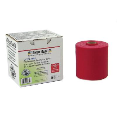 Resistive Exercise Theraband Latex Free - Red - 45.5m