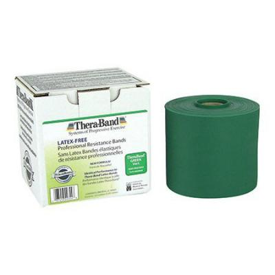 Resistive Exercise Theraband Latex Free - Green - 45.5m