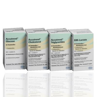 Accutrend Cholesterol Test Strips (25)