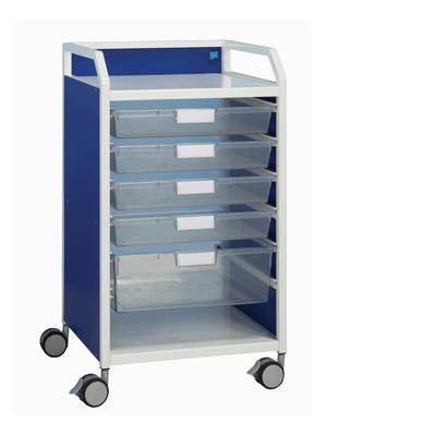 Howarth 1 Trolley - White