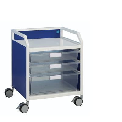 Howarth 3 Trolley - White