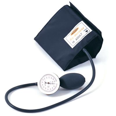 Limpet Aneroid Hand Sphyg with Velcro Cuff - Straight Tube