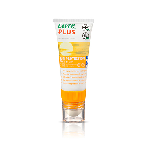 Care Plus 2-in-1 Face & Lip Sun Protection - 20ml