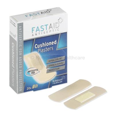FastAid Cushioned Plasters (20)