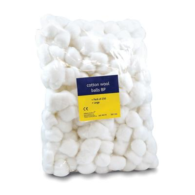 Cotton Wool Balls Large (250)