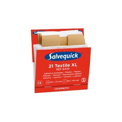 Cederroth Salvequick Fabric Extra Large Plaster Refill (6 x 21)