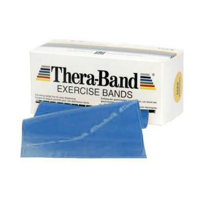 TheraBand Blue Extra Heavy Dispenser Pack - 5.5m