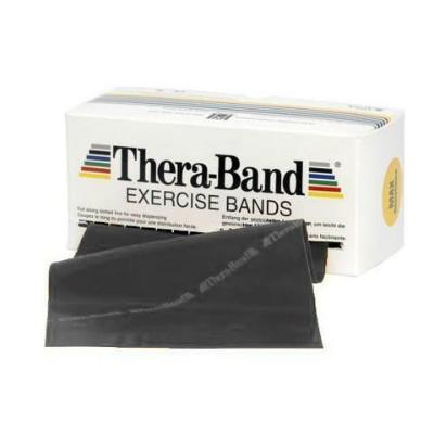 TheraBand Black Special Heavy Dispenser Pack - 5.5m
