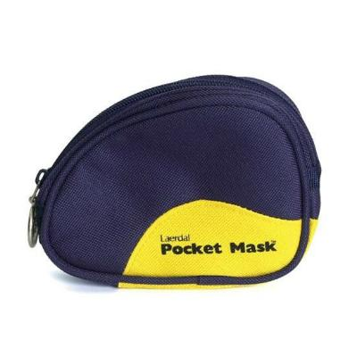 Pocket Mask W/O 02 Inlet Blue Pouch