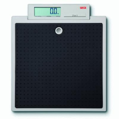 Seca 876 light weight flat scale with integrated display