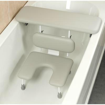 Bath Board and Cutout Seat