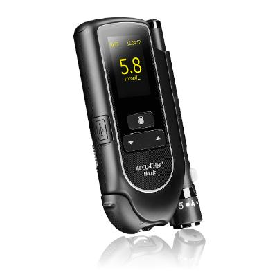 Accu-Chek Mobile Blood Glucose Test Meter (Single Patient Use)