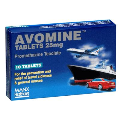 Avomine Tablets (10) *P*