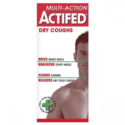 Actifed Linctus Multi Action - 100ml *P*