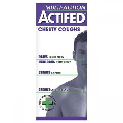 Actifed Chesty Cough Multi Action - 100ml *P*