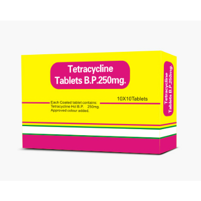 Tetracycline Tablets - 250mg (28) *POM*