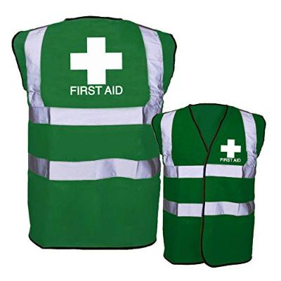 First Aid Hi-Vis Vest - Green - Large