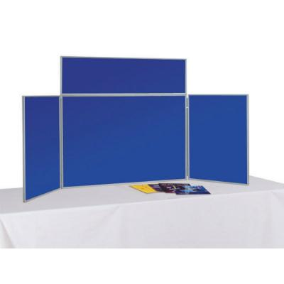 Tabletop Folding Exhibition Display Boards Small - 3 Panel + Header, incl. Carry Bag