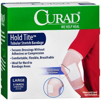 Curad Hold Tite Tubular Stretch Bandage - 4.5m