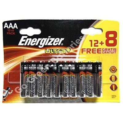 Energizer LR03 AAA Batteries (20)