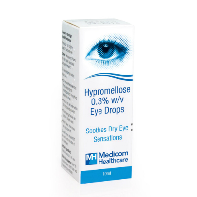 Hypromellose Eye Drops 0.3% - 10ml *P*