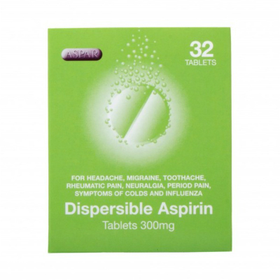 Aspirin Tablets - 300mg (32) *P*
