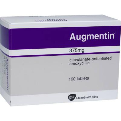 Augmentin Tablets - 375mg (21) *POM*