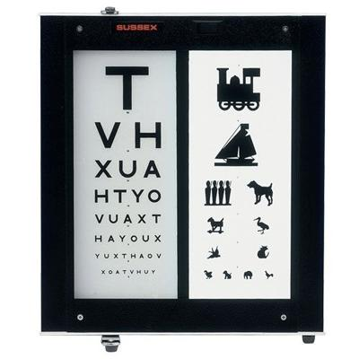 3M Illuminated Test Chart