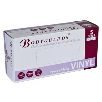 Powder Free Clear Vinyl Gloves - Small (100)