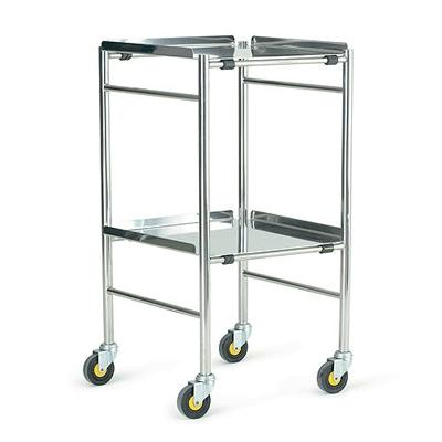 Glamorgan Stainless Steel Instrument Trolley - 18 inch