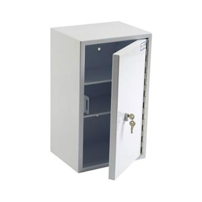 Controlled Drug Cabinet - 335mm x 270mm x 550mm - 2 Shelves - 17kg