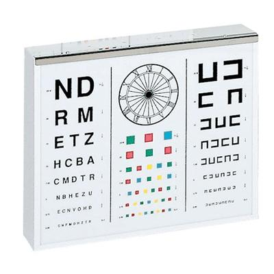 Illuminated Test Chart for Adults