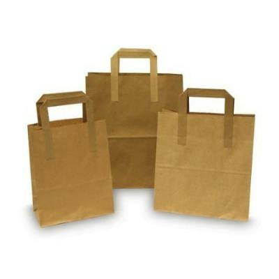 Brown Paper Bags with Handle (15)