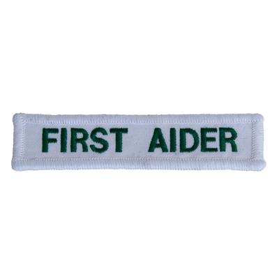 First Aider Badge - Cloth