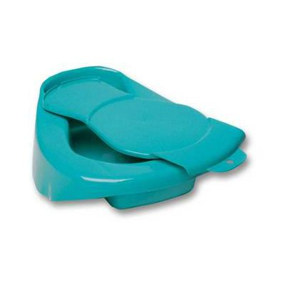 Polypropylene Blue Bed Pan with Lid