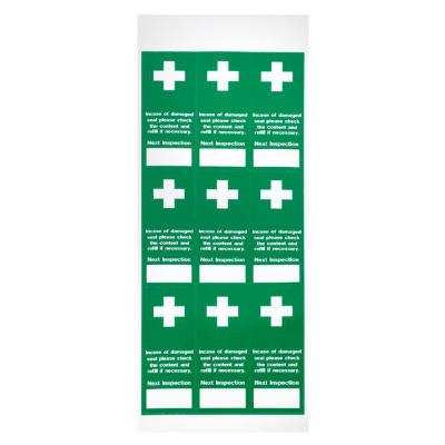 Tamperproof First Aid Labels - 20mm x 45mm (100)