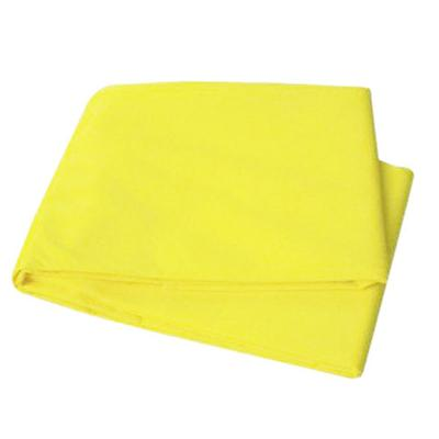 Disposable Yellow Emergency Foam Blanket 58x90 inch