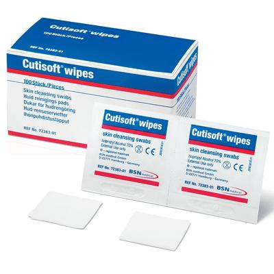 Cutisoft Pre-injection Swabs (100)