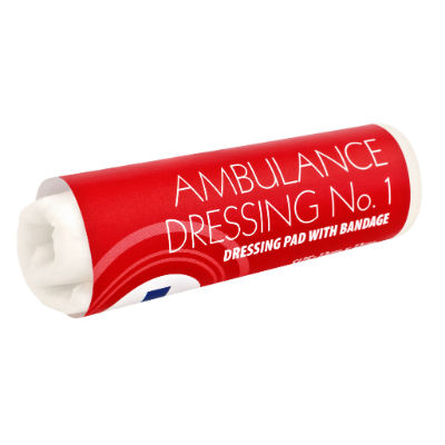Ambulance Dressing No. 1 - 12cm x 12cm
