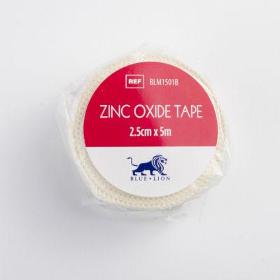 Zinc Oxide Tape - 2.5cm x 5m - Clearance images
