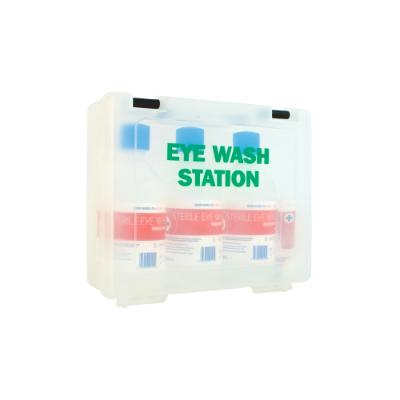 Economy Triple Eyewash Station with Contents