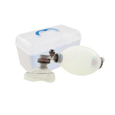 BVM Silicone Manual Reusable Resuscitator - Adult