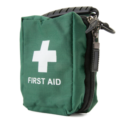 First Aid Bag - Green - Small - 120mm x 80mm x 60mm