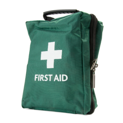 First Aid Bag - Green - Large - 190mm x 120mm x 80mm