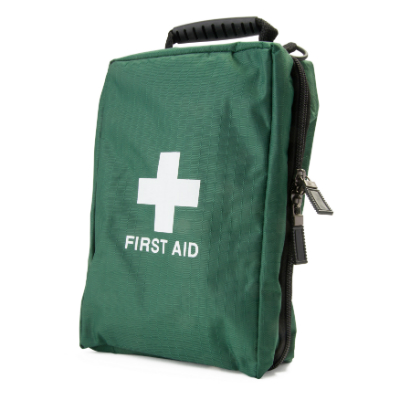 First Aid Bag - Green - Extra Large - 240mm x 140mm x 90mm