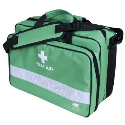Deluxe First Aid Holdall - Green