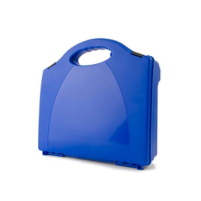 Blue Contemporary First Aid Box - Large - 330mm x 350mm x 95mm