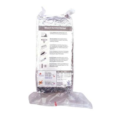 Blizzard Survival Blanket - Small - Silver (MIN ORDER 25)