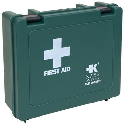 Standard First Aid Box - Small - 175mm x 265mm x 80mm