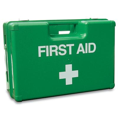 Deluxe First Aid Case & Bracket - Medium - 330 x 230 x 125mm